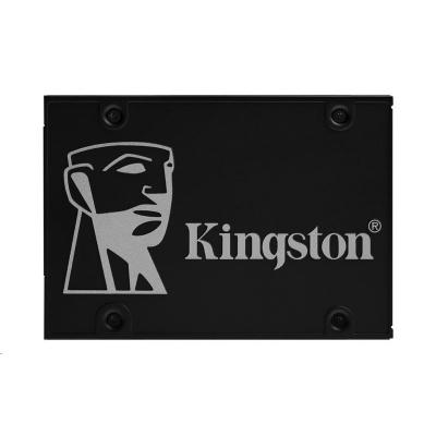 """Kingston SSD 1024GB KC600 SATA3 2.5"""" BUNDLE (R:550, W:520MB/s)"""