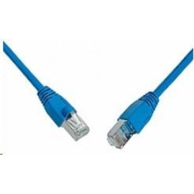 Solarix Patch kabel CAT6 SFTP PVC 1m modrý snag-proof C6-315BU-1MB