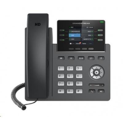 Grandstream GRP2613 [VoIP telefon - 3x SIP účet, HD audio, 24 prog.tl.+6 předvoleb, 2xLAN 1Gbps, PoE]