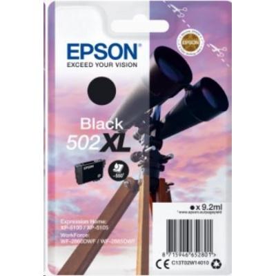"""EPSON ink čer Singlepack """"Dalekohled"""" Black 502XL Ink"""
