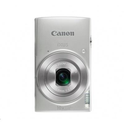 Canon IXUS 190, 20MPix, 10x zoom, Wi-Fi, NFC - stříbrný