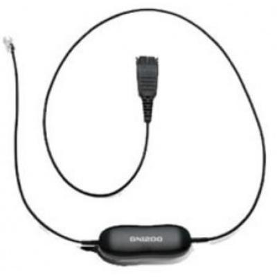 Jabra kabel QD -> RJ10, rovný 0,8 m