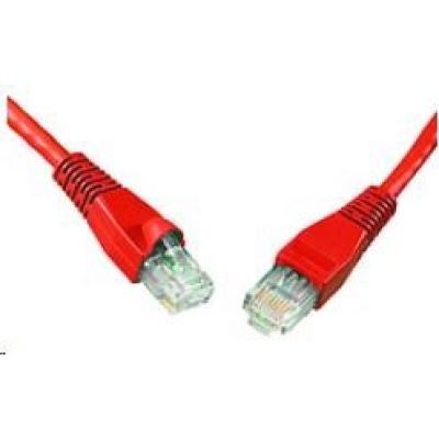 Solarix Patch kabel CAT6 UTP PVC 10m červený snag-proof C6-114RD-10MB
