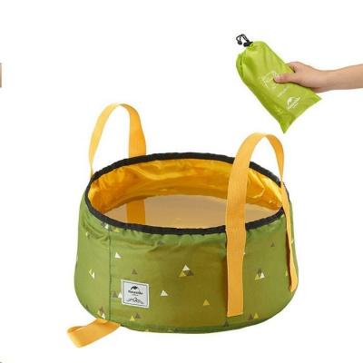 Naturehike skládací nádoba pro skladování/mytí 10l 120g - zelená