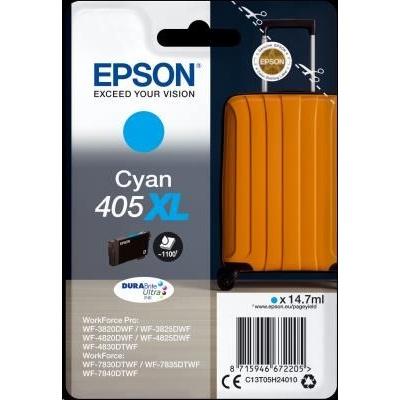 EPSON ink Singlepack Cyan 405XL Durabrite Ultra