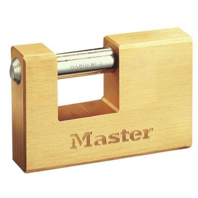 MasterLock 607EURD Obdélníkový visací zámek pro všeobecnou ochranu