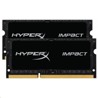 16GB 1600MHz DDR3L CL9 SODIMM (Kit of 2) 1.35V HyperX Impact