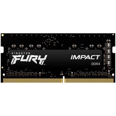 KINGSTON FURYImpact 16GB 2666MHz DDR4 CL16 SODIMM