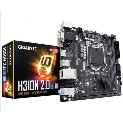 GIGABYTE MB Sc LGA1151 H310N 2.0, Intel H310, 2xDDR4, VGA, mini-ITX