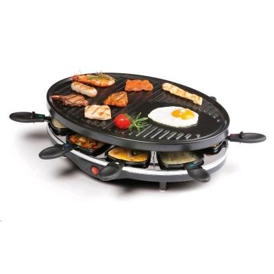 DOMO DO9038G domácí gril raclette pro 8 lidí