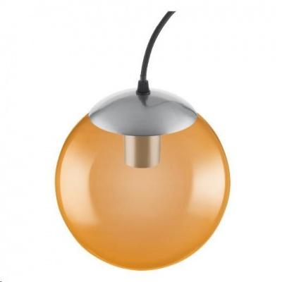LEDVANCE VINTAGE 1906 BUBBLE PENDANT 200X1215 Glass, Orange