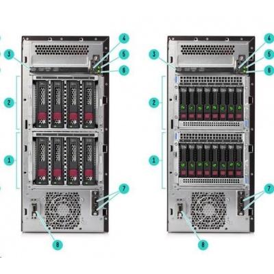 HPE PL ML110g10 3204 (1.9G/6C/8M/2133) 1x16G S100i 4LFF-NHP 350Wn DVDRW T4.5U NBD333