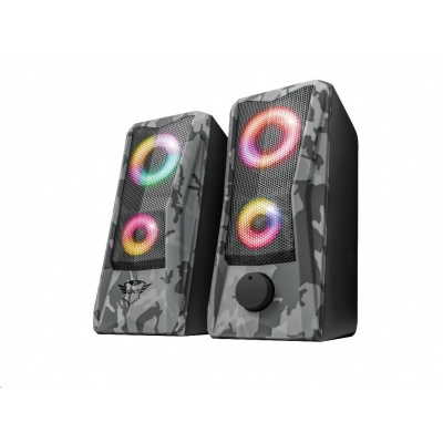 TRUST reproduktory GXT 606 Javv RGB-Illuminated 2.0 Speaker Set
