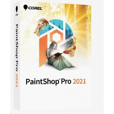PaintShop Pro 2021 License Media Pack - Windows EN/DE/FR/NL/IT/ES