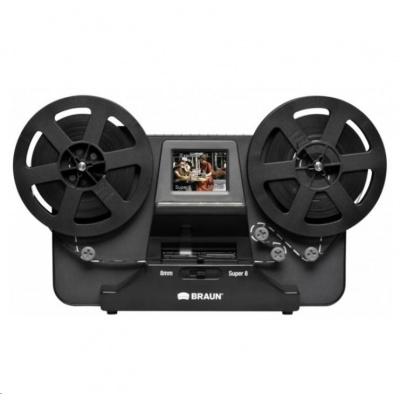 Braun Novoscan Super 8 - Normal 8 filmový skener