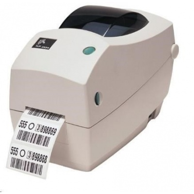 Zebra TLP2824 Plus, 8 dots/mm (203 dpi), řezačka, RTC, EPL, ZPL, USB, print server (ethernet)