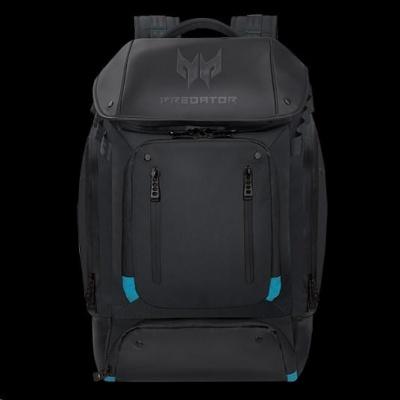 Acer PREDATOR GAMING UTILITY BACKPACK BLACK WITH TEAL BLUE