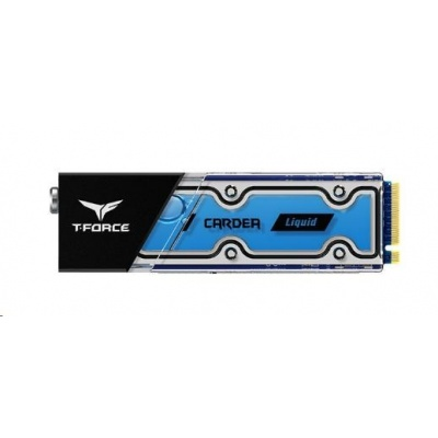 T-FORCE SSD 1TB CARDEA Liquid Water Cooling M.2 type 2280, PCIe 3.0x4 NVMe 1.3 (R:3400, W:3000 MB/s) Black