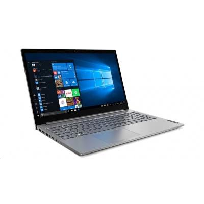 "LENOVO NB ThinkBook 15-IIL - i5-1035G4@1.1GHz,15.6"" FHD IPS mat,8GB,256SSD,noDVD,HDMI,USB-C,cam,backl,W10H,1r carryin"