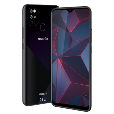 Aligator S6500 Duo Crystal, 32 GB, černá
