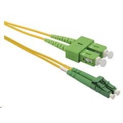 Solarix Patch kabel 9/125 LCapc/SCapc SM OS 1m duplex SXPC-LC/SC-APC-OS-1M-D