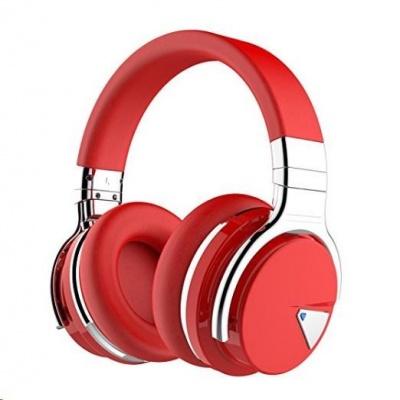 COWIN E7 ANC bezdrátová sluchátka, červená