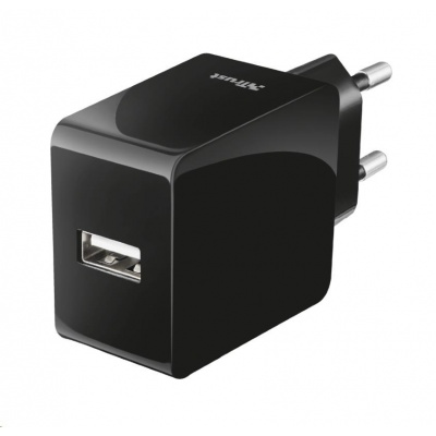 TRUST nabíječka 12W Fast USB Wall Charger for phones & tablets UK