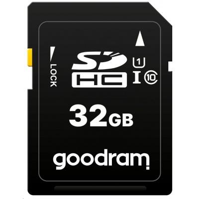 GOODRAM SDHC karta 32GB (R:100/W:10 MB/s) UHS-I Class 10