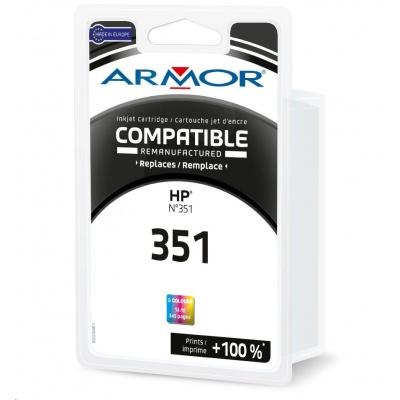 ARMOR ink-jet pre HP DJ D4260, C4280, OJ J5780 , 290 strán, CB337EE, 3 colors (HP 351)