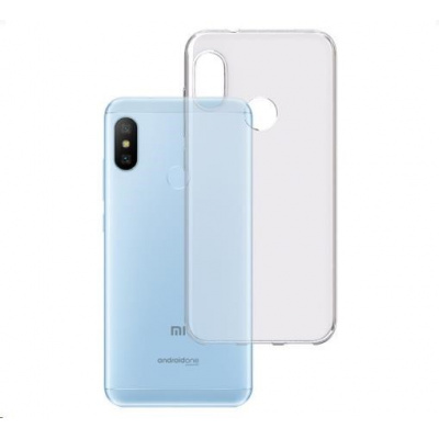 3mk ochranný kryt Clear Case pro Xiaomi Mi A2 Lite Global ,čirý