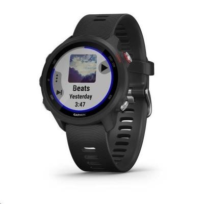Garmin GPS sportovní hodinky Forerunner 245 Music Optic Black