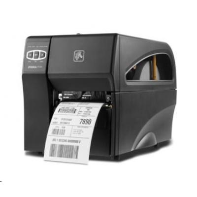 Zebra DT priemyselná tlačiareň ZT220, 300 DPI,, RS232, USB, TEAR