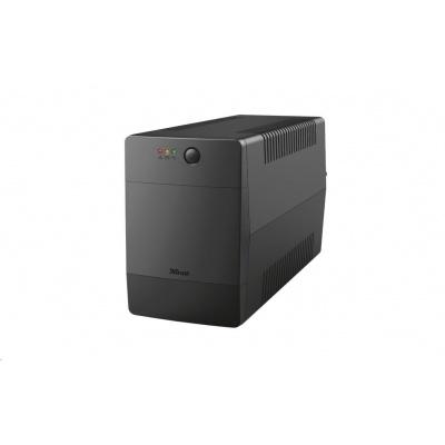 TRUST UPS Paxxon 1500VA UPS with 4 standard wall power outlets