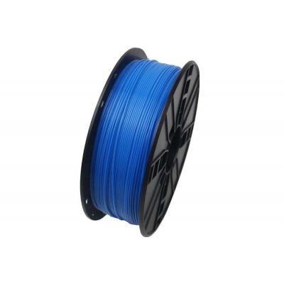 GEMBIRD Tisková struna (filament) PLA, 1,75mm, 1kg, fluorescentní, modrá