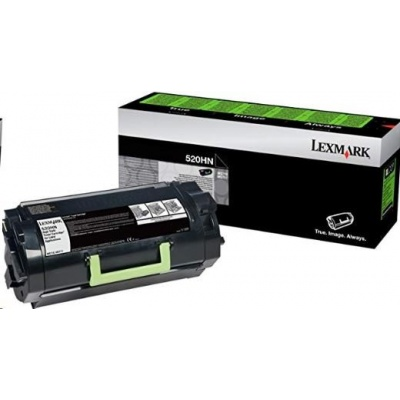 Lexmark toner 52D0H0N High Yield Corporate Cartridge (25k) pro MS710dn / MS711dn