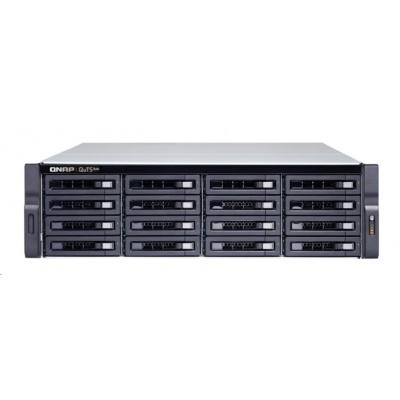 QNAP TS-h1683XU-RP-E2236-128G (6C/Xeon E-2236/3,4-4,8GHz/128GBRAM/16xSATA/4xGbE/2xSFP+/6xUSB3.1/4xPCIe/RP)