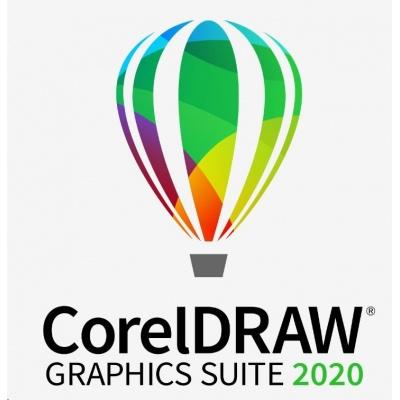 CorelDRAW GS 2020 Single User Business Lic (Windows) EN/DE/FR/ES/BR/IT/CZ/PL/NL