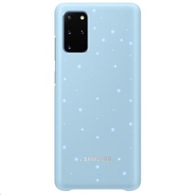 Samsung kryt LED EF-KG985CLE pro Galaxy S20+, modrá