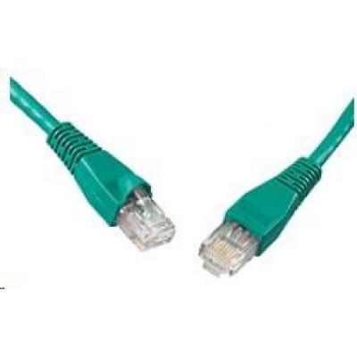 Solarix Patch kabel CAT6 UTP PVC 3m zelený snag-proof C6-114GR-3MB