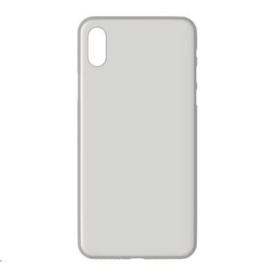 3mk ochranný kryt NaturalCase pro Apple iPhone XS, transparentní bílá