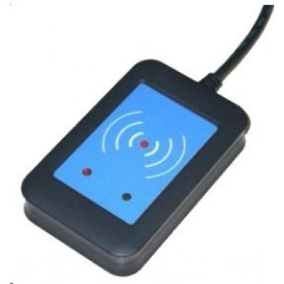 Elatec RFID čtečka TWN4, Multitech Mifare NFC, 125kHz/13,56MHz, USB, černá