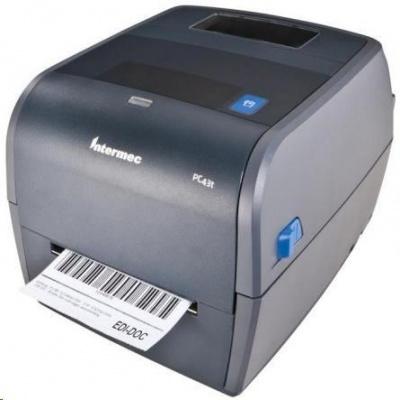Honeywell PC43t, 8 dots/mm (203 dpi), ESim, ZSim II, IPL, DP, DPL, USB