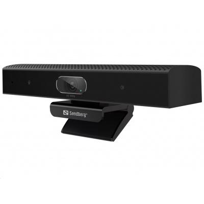 Sandberg videokonferenční soundbar ConfCam All-in-1, 1080 HD