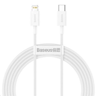 Baseus Superior Series rychlonabíjecí kabel Type-C/Lightning 20W 2m bílá