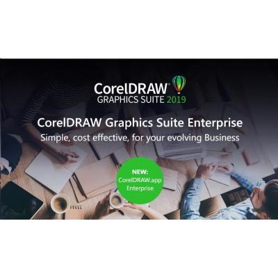 CorelDRAW.app Enterprise 10-User Pack (1 Year Subscription) - EN/DE/FR/ES/BR/IT/CZ/PL/NL
