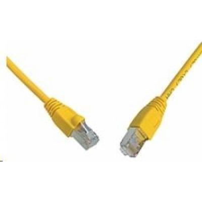 Solarix Patch kabel CAT6 SFTP PVC 5m žlutý snag-proof C6-315YE-5MB