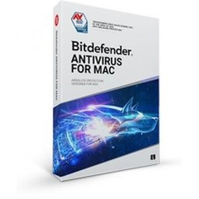 Bitdefender Antivirus  for Mac - 3 MAC na 2 roky- elektronická licence do emailu