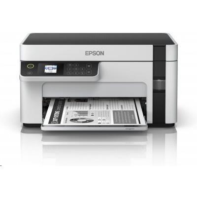 EPSON tiskárna ink EcoTank Mono M2120, 3in1,A4, 1200x2400dpi, 32ppm, USB, Wi-Fi, 3 roky záruka po reg.
