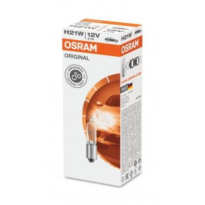 OSRAM autožárovka H21W STANDARD 12V 21W BAY9s - 10ks v balení