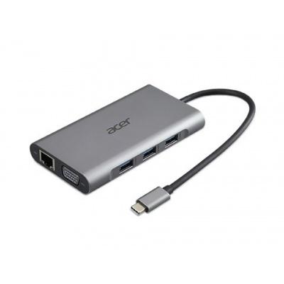 ACER 12v1 Type C dongle: 2 x USB3.2, 2 x USB2.0, 1x SD/TF, 2 x HDMI, 1 x PD, 1 x DP, 1 x RJ45, 1 x 3.5 Audio